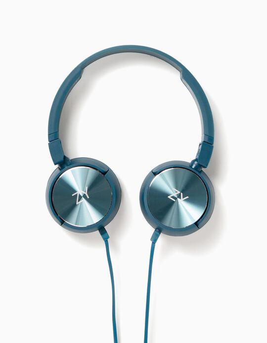 Headphones ZY Azuis