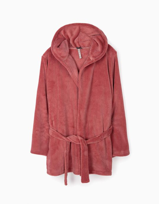 Soft dressing gown