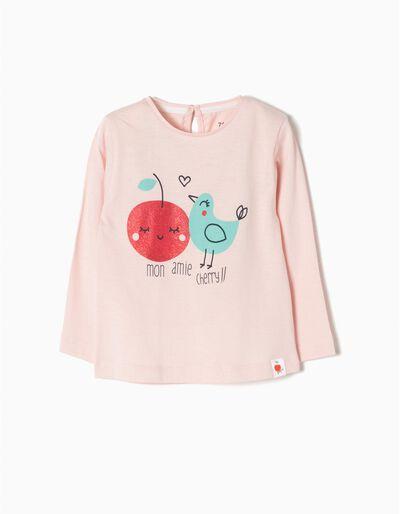 T-shirt Manga Comprida Mon Amie