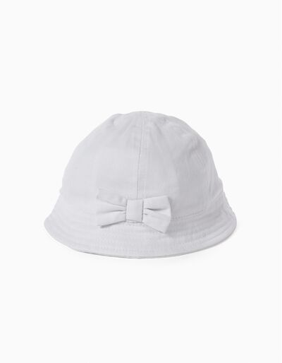 Chapéu Laço Branco