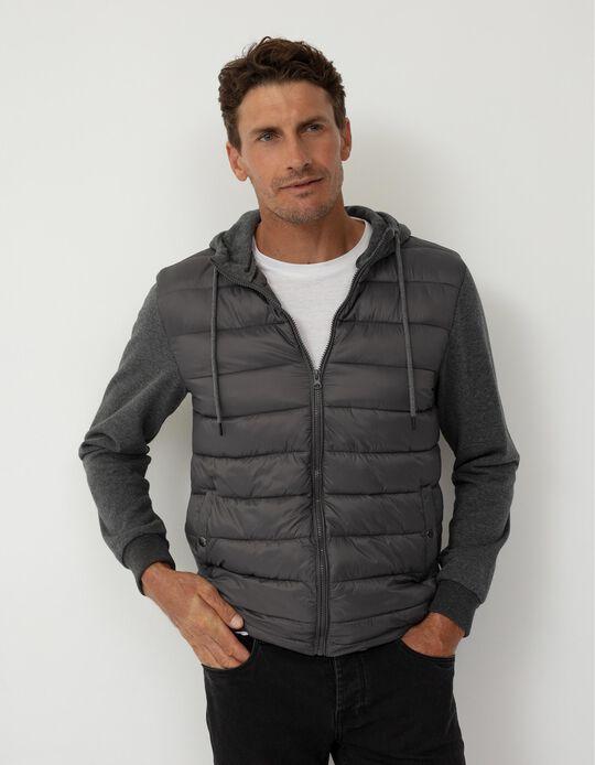 Lightweight Techno Jacket, Grey