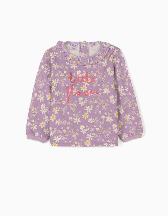 Carded Sweatshirt, Floral