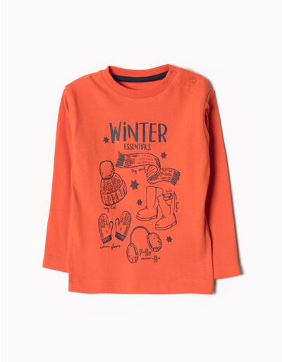 T-shirt Manga Comprida Winter Essentials