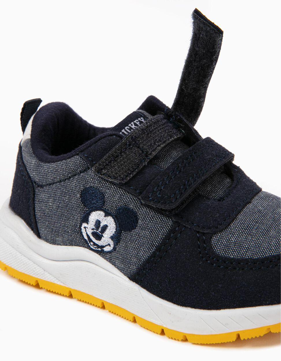 Sapatilhas com Velcro Mickey