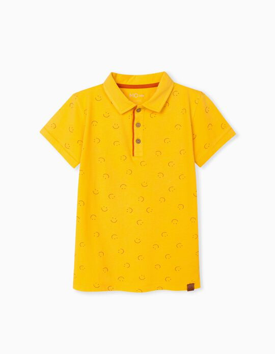 Polo Shirt in Organic Cotton, Boys