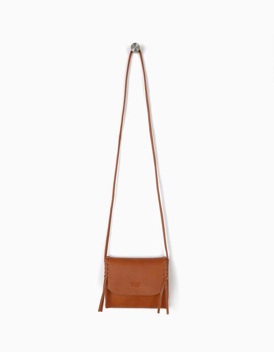 Crossbody Bag for Girls, Brown
