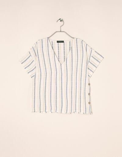 Blusa Com Decote Em V