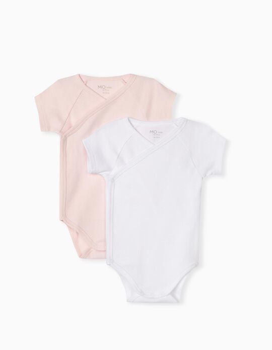 2 Bodysuits for Baby Girls