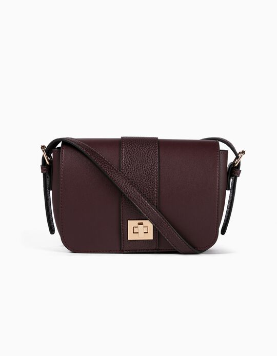 Handbag with Front Flap
