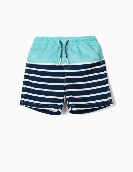 Swim Shorts for Boys, Stripes