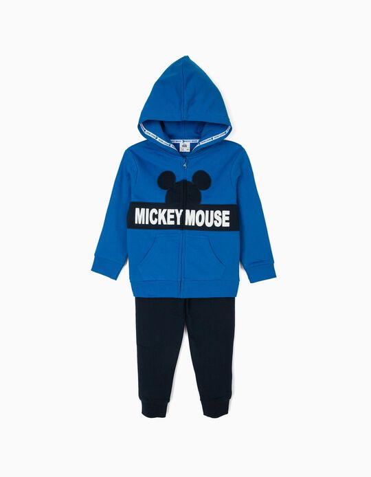 Fato de Treino para Menino 'Mickey Mouse', Azul