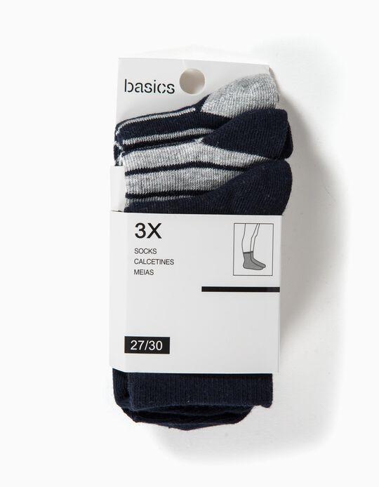Pack of 3 Pairs of Socks