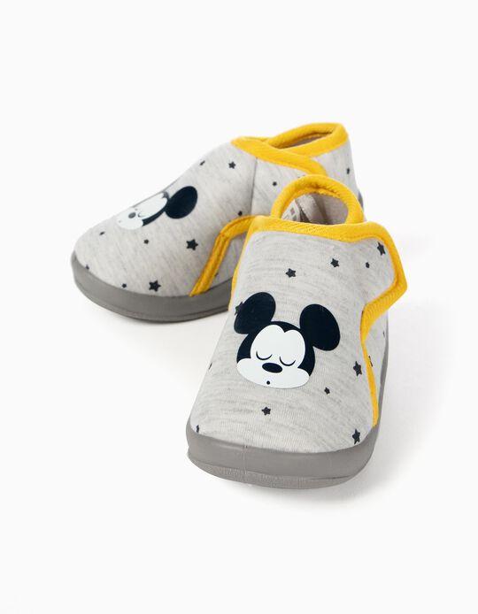 Pantufas para Bebé Menino 'Mickey', Cinza