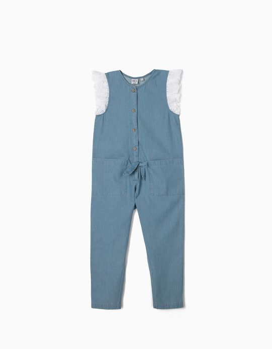 Denim Jumpsuit for Girls