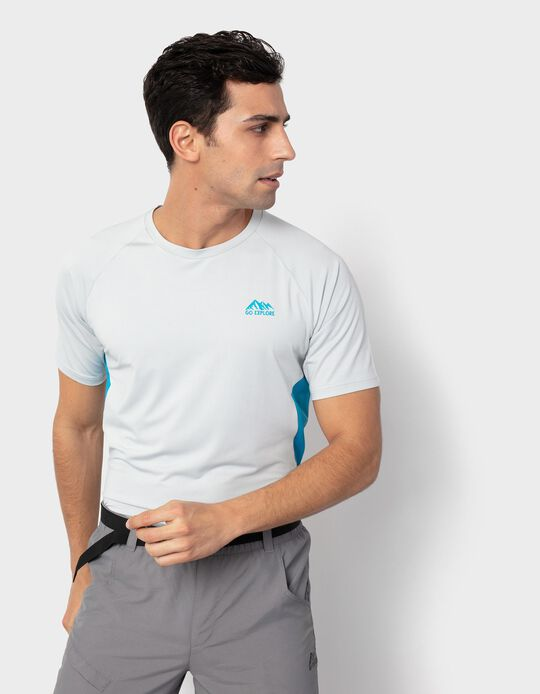 T-shirt with Breathable Panels, Men