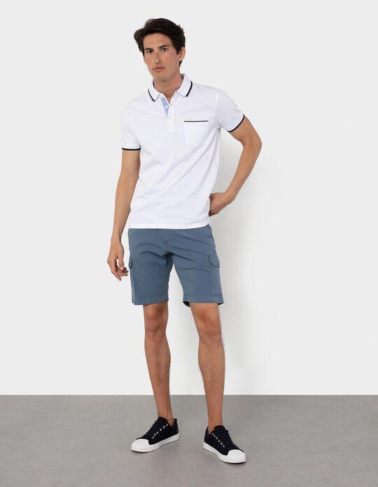 Twill Shorts, Straight Leg