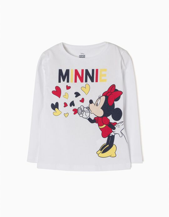 T-Shirt Manga Comprida Minnie