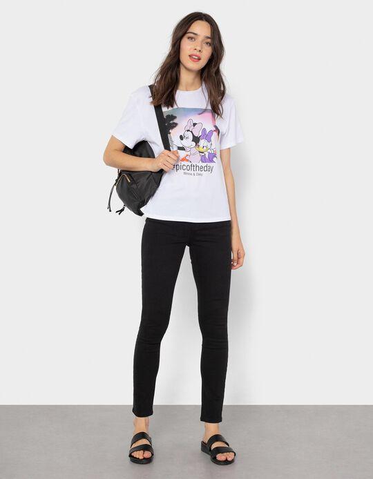 Minnie & Daisy T-shirt for Women, White