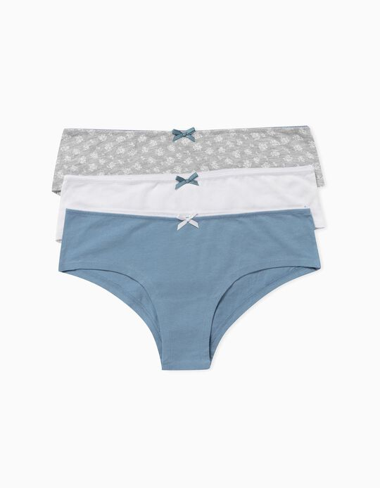 3 Shortie Briefs, for Women