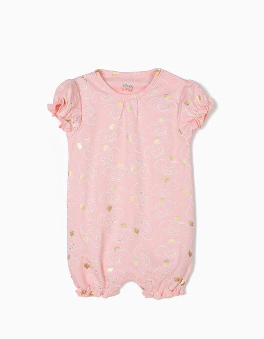Babygrow para Bebé Menina 'Dumbo', Rosa