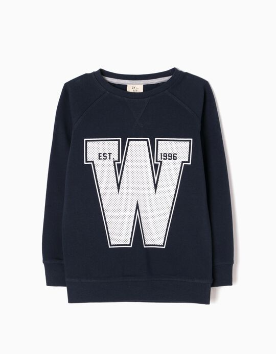 Blue Sweatshirt, W 96