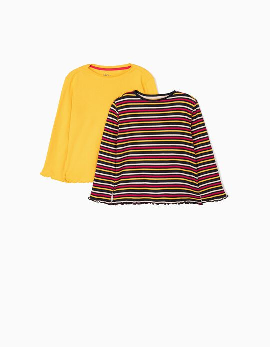Striped T-Shirts, Pack of 2
