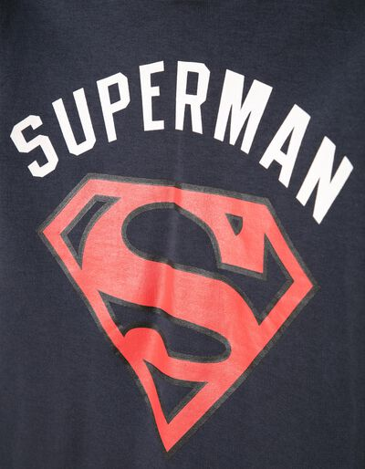 Sweatshirt com Capuz-Máscara Superman