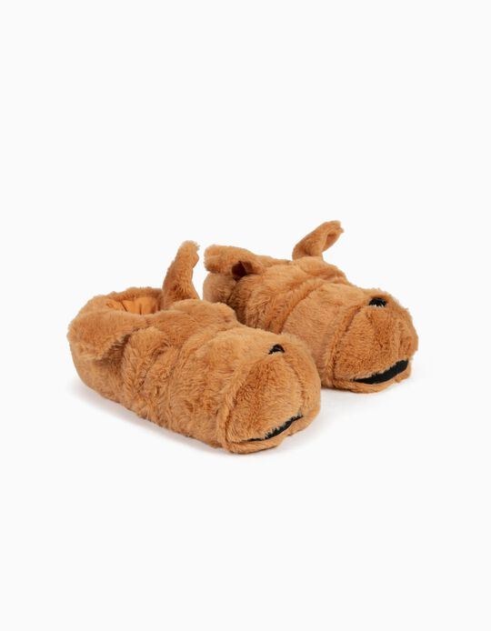 Slippers, Dog with Droopy Ears