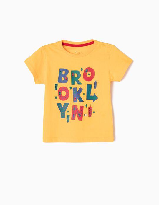T-shirt Brooklyn Amarela