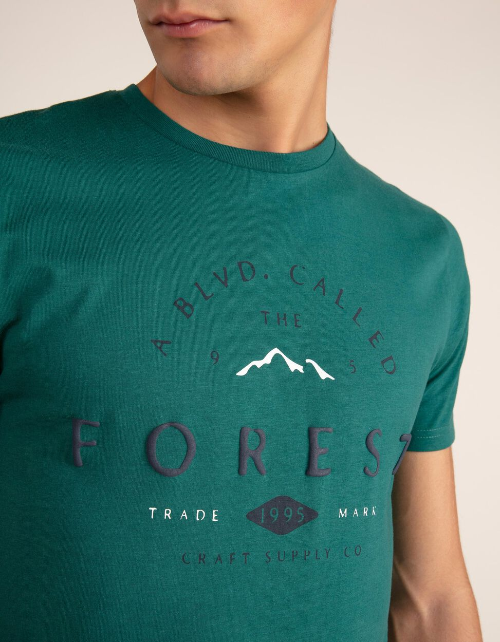 T-shirt A Blvd. Called The Forest