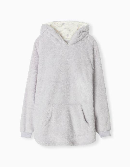 Camisola de Pijama com Capuz, Mulher, Lilás
