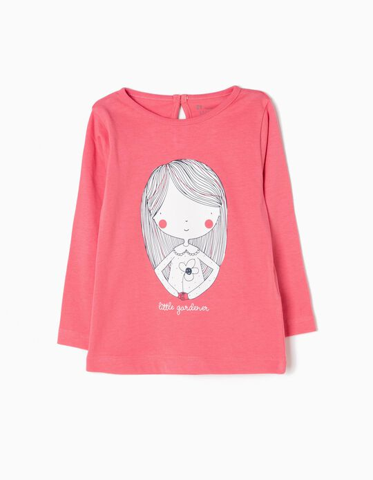 T-shirt Manga Comprida Little Gardener