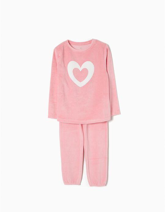 Pijama Veludo Heart
