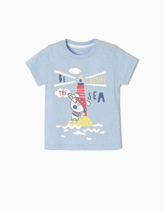 T-shirt Algodão Beside The Sea BS