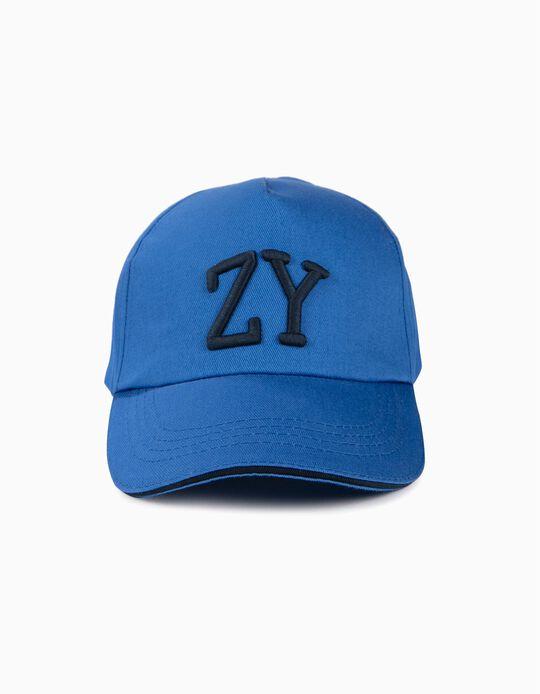 Boné para Menino 'ZY', Azul