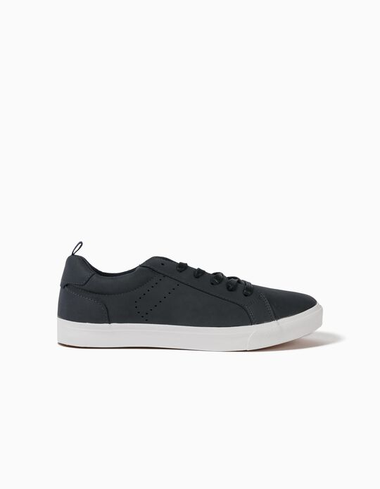 Synthetic Leather Trainers, for Men