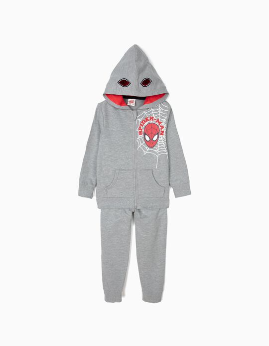 Tracksuit for Boys 'Spider-Man', Grey