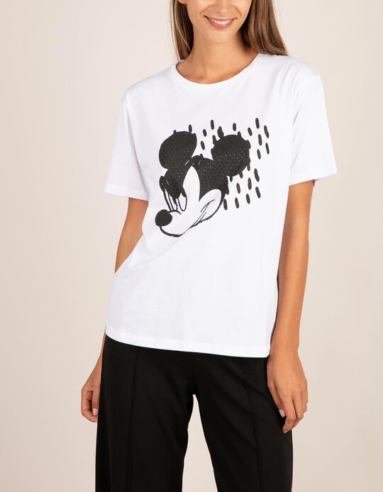 T-shirt Mickey Mouse brilhantes