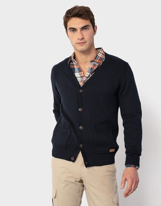 Cardigan with Pockets