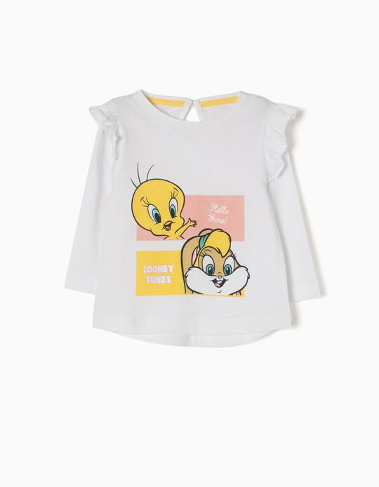 T-shirt Manga Comprida Tweety