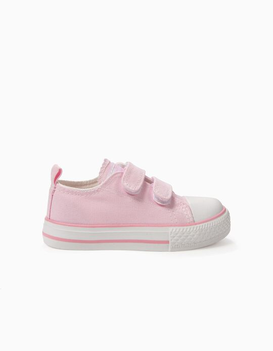 Sapatilhas para Bebé '50's Sneaker' com Velcro, Rosa