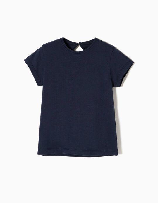 T-shirt Algodão Dark Blue