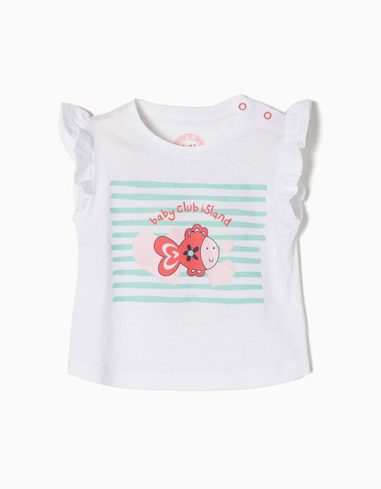 T-shirt Manga Curta Baby Club Island BS