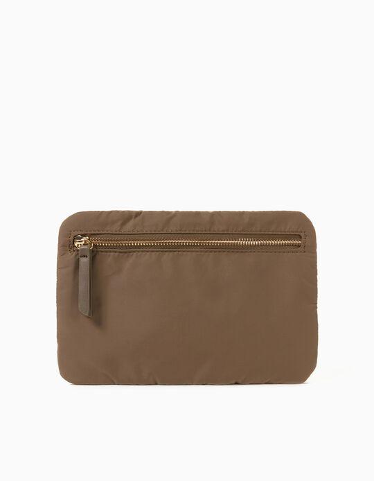 Nylon Toiletry Bag, Green