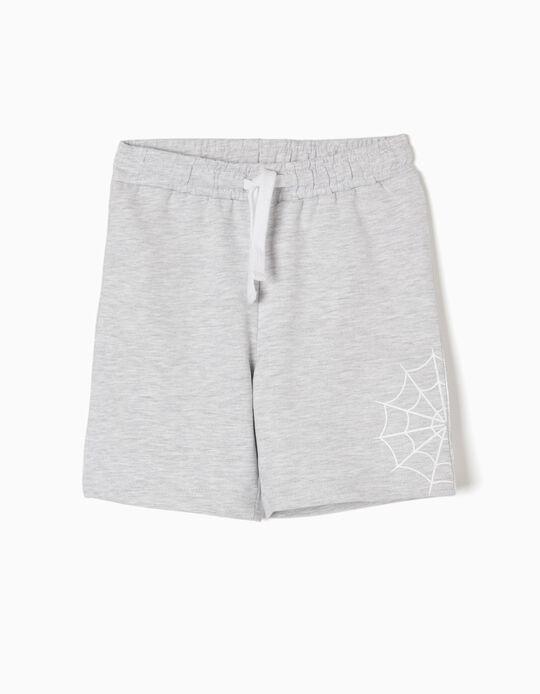 Grey Fleece Shorts, Marvel