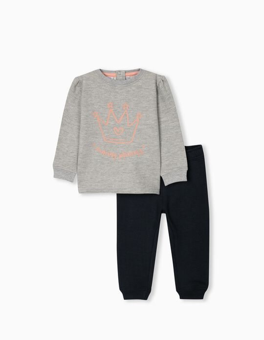 Tracksuit for Babies, Grey