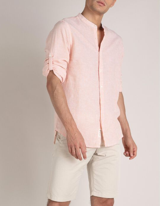 Regular Fit Shirt, Linen