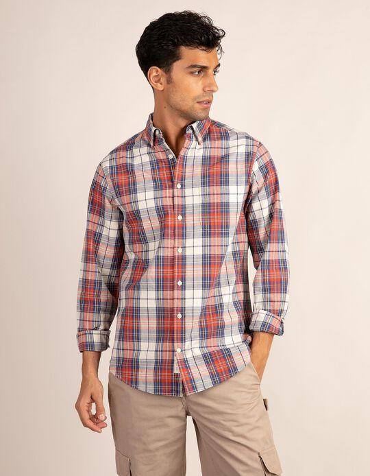 Regular fit tartan shirt