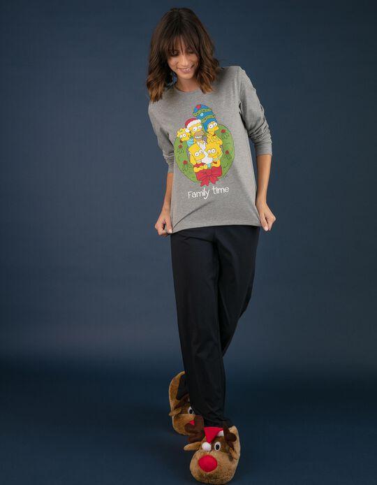 Conjunto de pijama natalício Simpsons