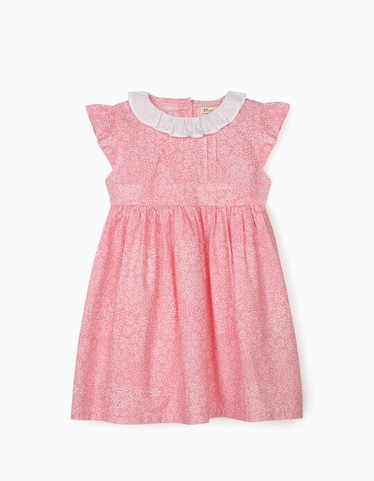 Floral Dress for Girls, Pink